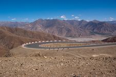 Free Mountain Road View Royalty Free Stock Photos - 15307898