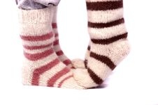 Free Knitted Socks Stock Photo - 15307910
