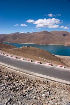 Free Lake In Tibet, China Royalty Free Stock Images - 15307929