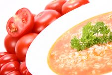Free Tomato Soup Stock Images - 15308824