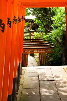 Free Japanese Archways Stock Photo - 15309250