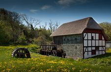Free Watermill In Summertime Royalty Free Stock Images - 15309839