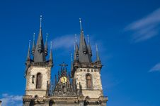 Free Tyn Church In Prague Stock Photography - 15310022