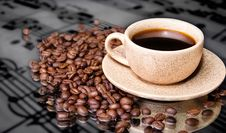 Free Cup Of Coffee Royalty Free Stock Photography - 15310107