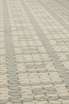 Free Brick Pavement Stock Images - 15310614
