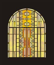 Free Stained Glass Window In Vector Stock Images - 15310994