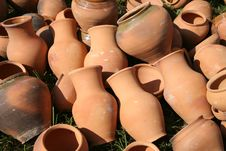 Free Clay Pots Stock Images - 15311334