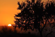 Free Spanish Sunset Royalty Free Stock Photo - 15311415