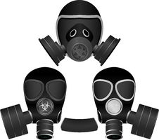 Free Gas Masks Royalty Free Stock Photo - 15311455