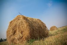 Free Hay Bales Royalty Free Stock Images - 15311459