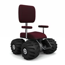 Free Big Office Chair Stock Images - 15311934