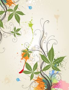 Free Floral Floral Background Stock Photo - 15312170
