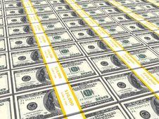 Free Dollar Bills Stock Image - 15312771