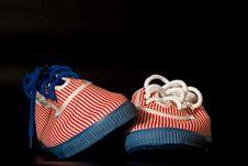 Free A Pair Of Retro Girls Sneakers Stock Photos - 15312963