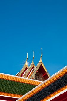 Free Roof Of Temple Stock Photo - 15314310