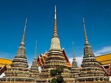 Free Small Stupa At Wat Pho Stock Photo - 15314480