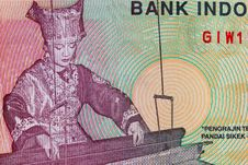 Free Vinatge Indonesian Currency Royalty Free Stock Image - 15314586