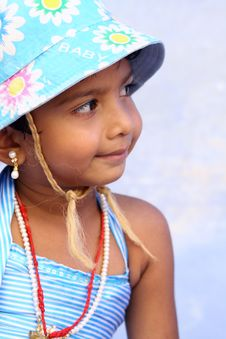 Free Smiling Cute Indian Girl Stock Photos - 15315143