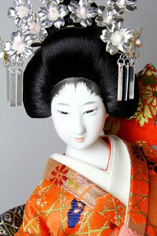 Free Geisha Japanese Doll Stock Photos - 15315743