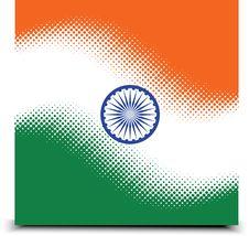 Indian National Flag Stock Photos
