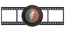 Free Film With Lens Royalty Free Stock Photography - 15316927