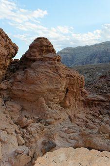 Free Rocky Desert Landscape At Sunset Stock Images - 15317164