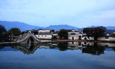 Free South Lake In Hongcun Royalty Free Stock Photo - 15317575