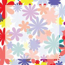 Free Floral Frame Stock Image - 15318611