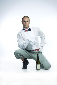 Free Hot Wine Waiter Royalty Free Stock Photography - 15319077