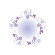 Free Floral Abstract Design Royalty Free Stock Photos - 15319438