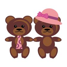 Free Pair Of Bears Stock Photos - 15319823