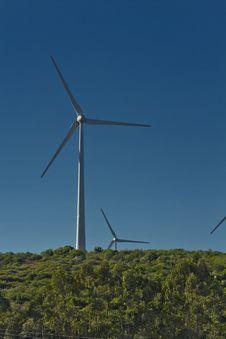 Windmill Energy Gatherer Royalty Free Stock Photo