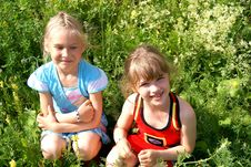 Free Two Beautiful Girls Stock Image - 15320571