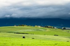Free Meadows In Evening Royalty Free Stock Image - 15320626