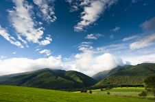 Free Clouds Over Mountains Stock Image - 15320631