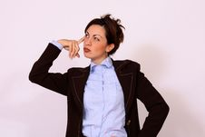 Free Business Woman Thinking Pose Royalty Free Stock Photo - 15321055