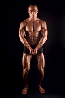 Bodybuilder. Stock Photos