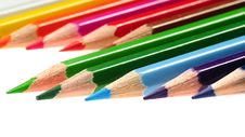 Free Color Pencils Royalty Free Stock Photos - 15321338