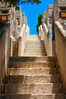 Free Hotel Staircase Outdoors Royalty Free Stock Photo - 15321695