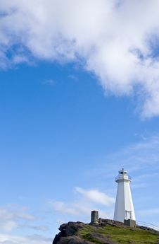 Free Cape Spear Lighthouse Royalty Free Stock Photography - 15322957