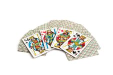 Free Playing Cards Royalty Free Stock Photos - 15323168
