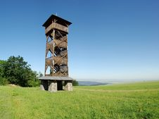 Free Wooden View-tower Sance Stock Images - 15323294