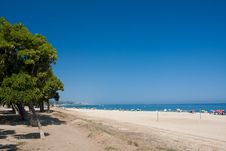 Free Beach Under Clear Blue Sky Stock Photo - 15323310