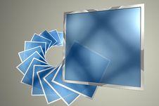 Free Screens Evolution Spiral Stock Image - 15323471