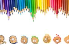 Free Color Pencil And It S Shave Stock Photo - 15323820