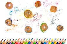 Free Color Pencil And It S Shave Royalty Free Stock Images - 15323929