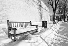 Free Bench In Park Stock Photography - 15324582