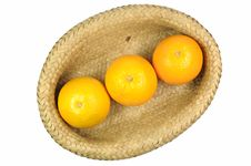 Free Orange In Basket Royalty Free Stock Photo - 15324645