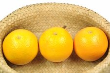 Free Orange In Basket Stock Images - 15324674