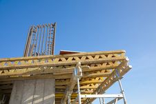 Free Scafolding Structure On A Construction Site Royalty Free Stock Photos - 15325368